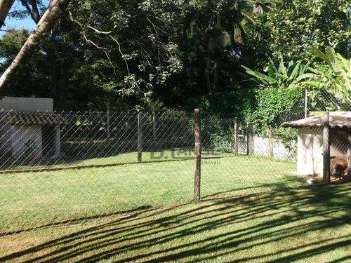chácara com 3 dormitórios à venda, 2600 m² por r$ 1.800.000 - loteamento chácaras vale das garças - campinas/sp - ch0382