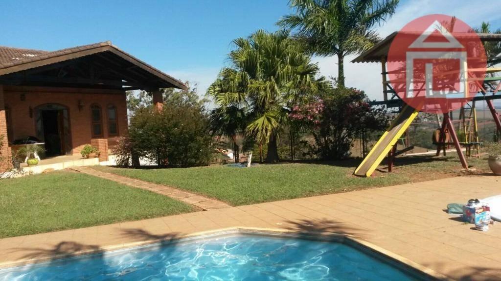 chácara com 3 dormitórios à venda, 2800 m² por r$ 550.000,00 - campo novo - bragança paulista/sp - ch0086