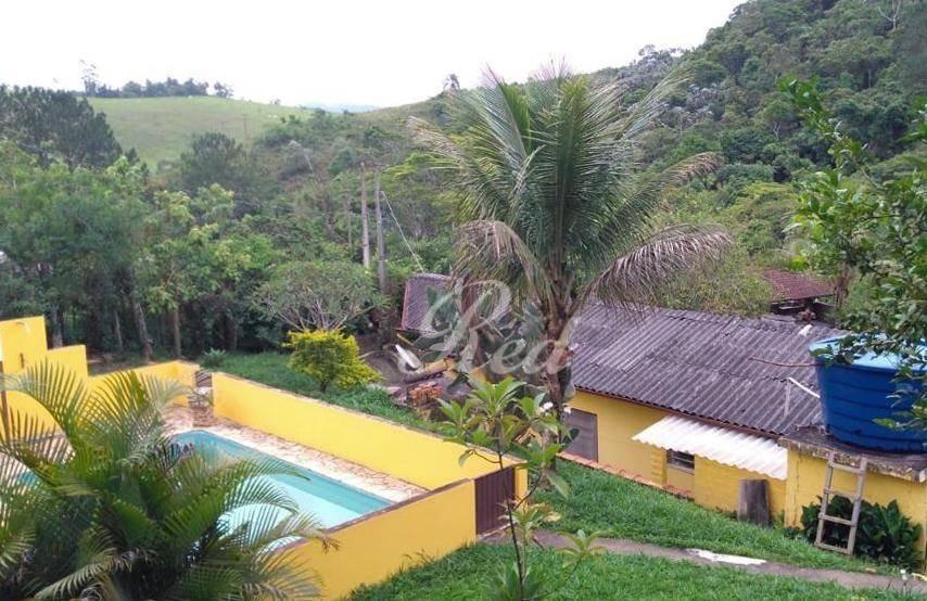 chácara com 3 dormitórios à venda, 3000 m² por r$ 380.000 - pouso alegre - santa isabel/sp - ch0041
