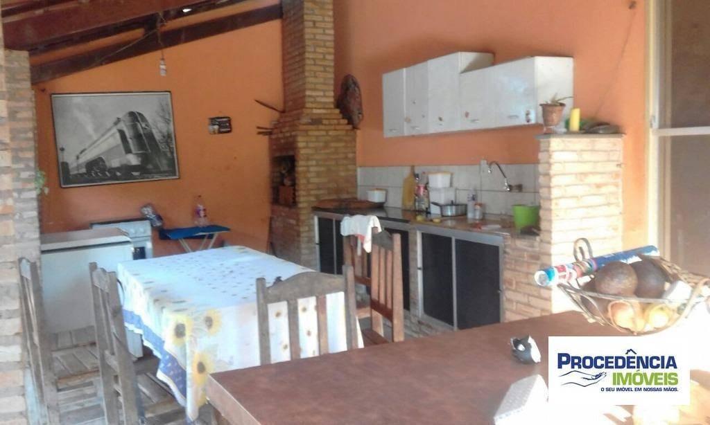 chácara com 3 dormitórios à venda, 3000 m² por r$ 400.000 - centro (talhado) - são josé do rio preto/sp - ch0072