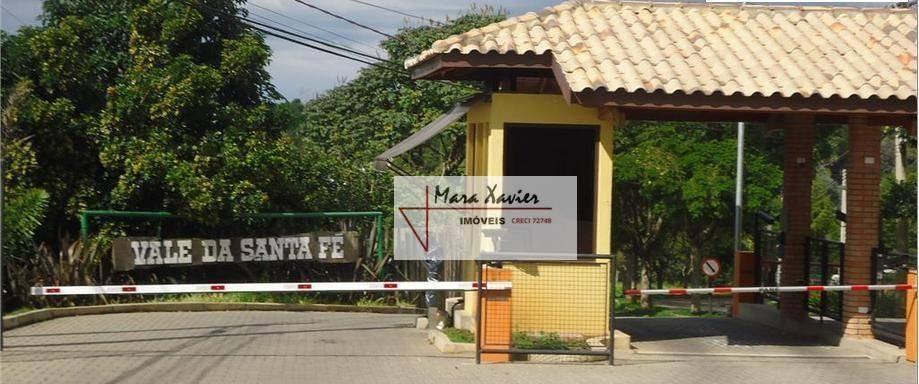 chácara com 3 dormitórios à venda, 3303 m² por r$ 1.250.000 - condomínio santa fé - vinhedo/sp - ch0070
