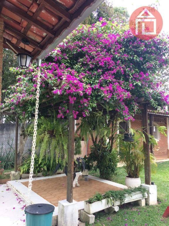 chácara com 3 dormitórios à venda, 3550 m² por r$ 1.170.000 - curitibanos - bragança paulista/sp - ch0195