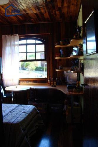 chácara com 3 dormitórios à venda, 5000 m² por r$ 850.000 - ouro fino - santa isabel/sp - ch0034