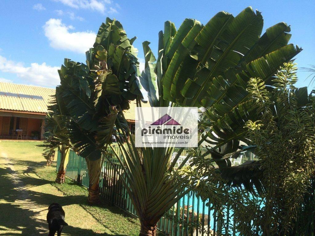 chácara com 3 dormitórios à venda, 5300 m² por r$ 3.700.000,00 - chácaras cataguá - taubaté/sp - ch0031