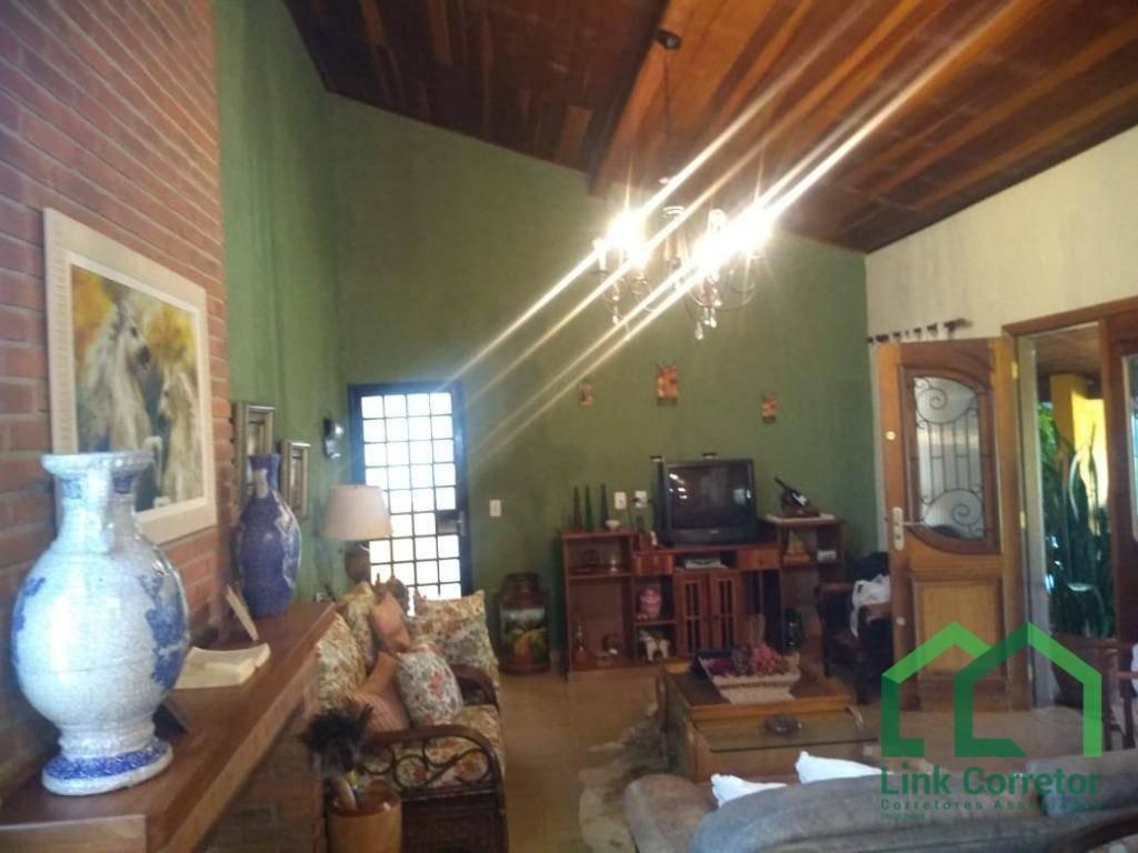 chácara com 3 dormitórios à venda, 5800 m² por r$ 950.000 , próximo ao km 160 rodovia castelo branco . - ch0010