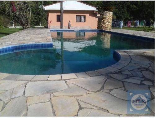 chácara com 3 dormitórios à venda, 7000 m² por r$ 450.000 - balneário gaivota - itanhaém/sp - ch0010