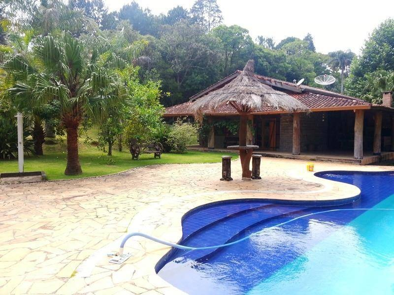 chácara com 3 dormitórios à venda, 7000 m² por r$ 600.000 - aguassaí - cotia/sp - ch0218