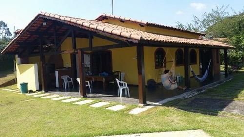 chácara com 3 dormitórios à venda, 993 m² por r$ 420.000,00 - paruru - ibiúna/sp - ch0162