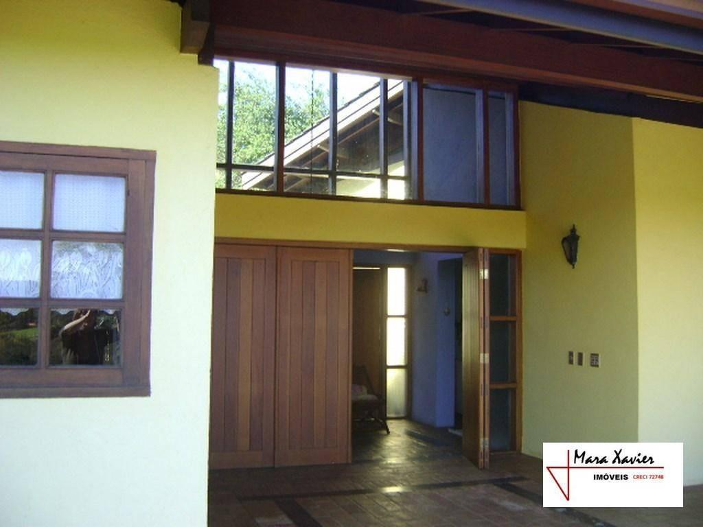 chácara com 3 dormitórios à venda ou locação, 5200 m² por r$ 1.100.000 - condomínio santa fé - vinhedo/sp - ch0082