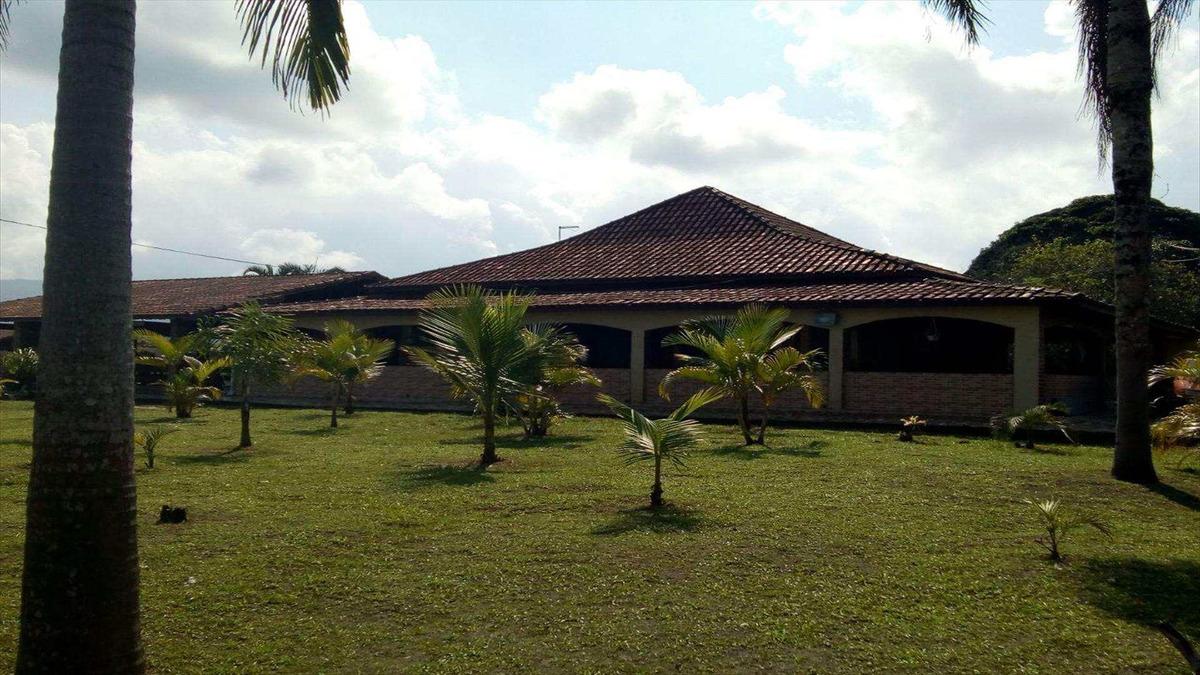 chácara com 3 dorms, balneário itaguai mongaguá - r$ 3 mi, cod: 6544 - v6544