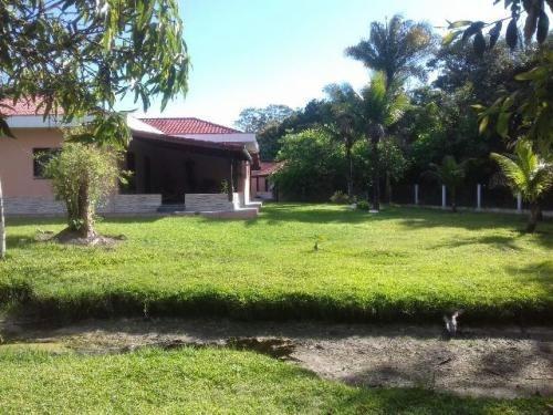 chácara com 3 quartos e piscina, itanhaém - ref 0730-p