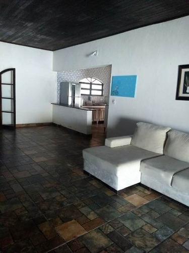 chácara com 4 dormitórios e piscina em itanhaém! ref 4256-p