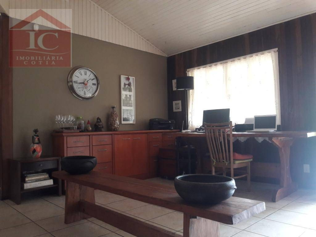 chácara com 4 dormitórios, sendo 2 suítes à venda, 5000 m² por r$ 980.000 - brotas - cotia/sp - ch0071