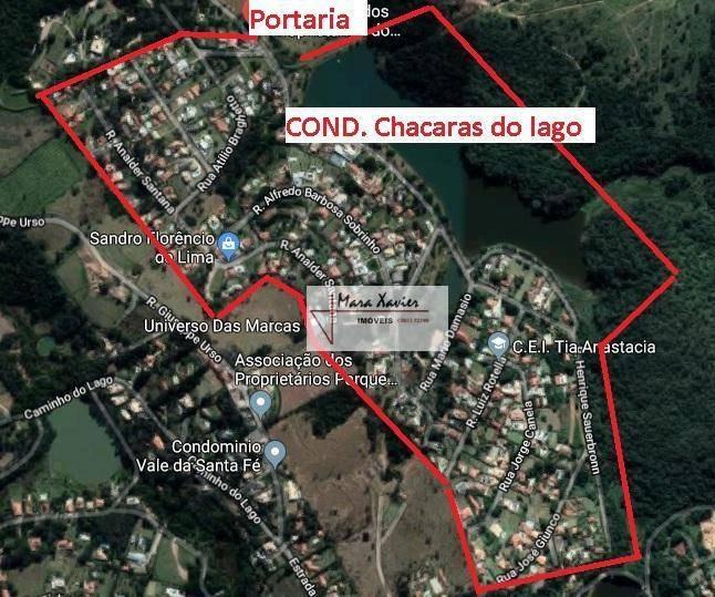chácara com 4 dormitórios à venda, 1000 m² por r$ 950.000,00 - caixa d´água - vinhedo/sp - ch0138