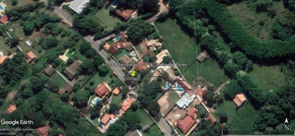 chácara com 4 dormitórios à venda, 1000 m² por r$ 980.000,00 - pinheirinho - vinhedo/sp - ch0411