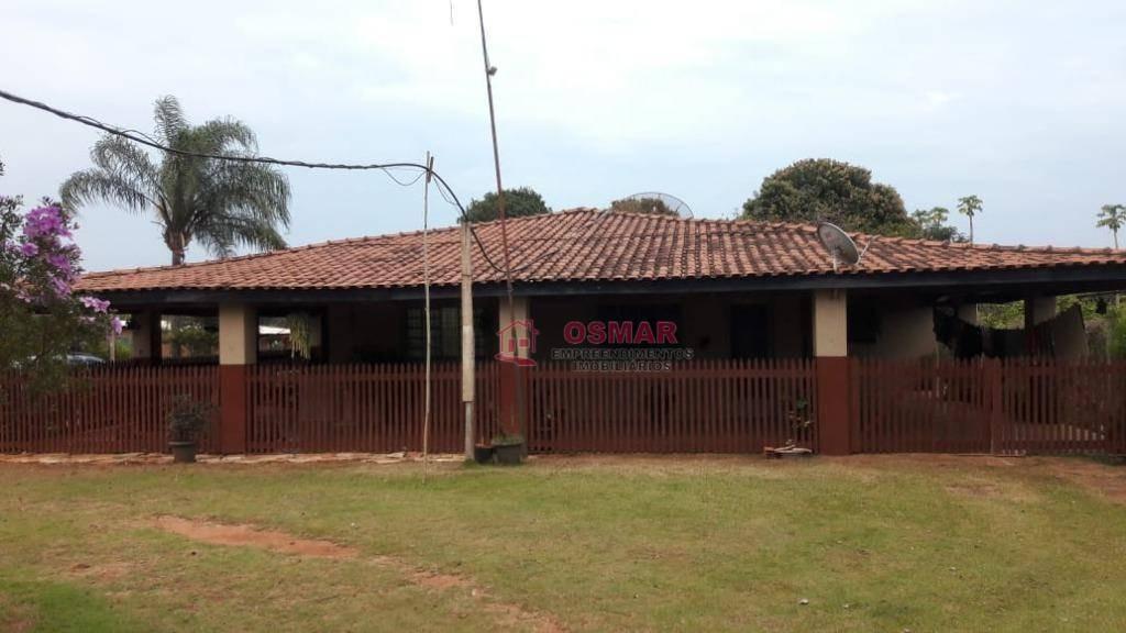 chácara com 4 dormitórios à venda, 11000 m² por r$ 600.000 - zona rural - engenheiro coelho/sp - ch0023
