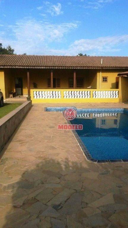 chácara com 4 dormitórios à venda, 1200 m² por r$ 350.000,00 - recanto das águas - cosmópolis/sp - ch0124