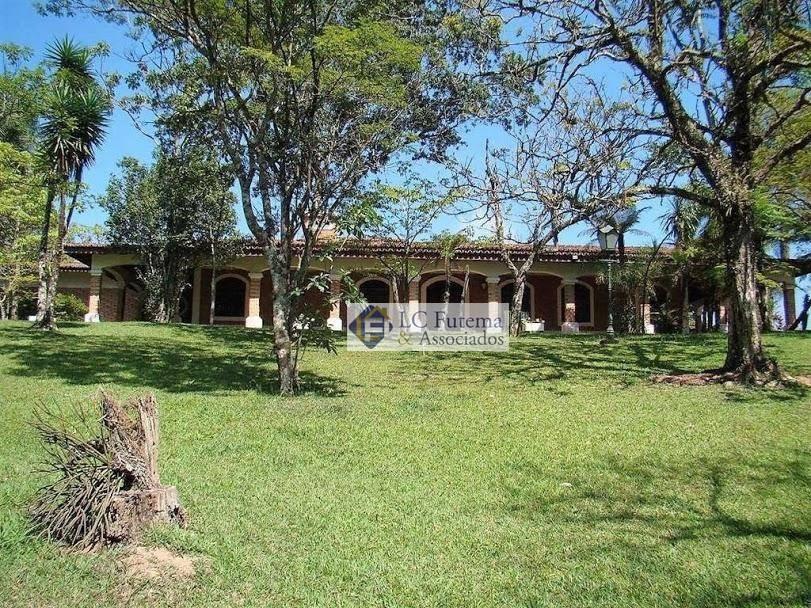 chácara com 4 dormitórios à venda, 12000 m² - chácara recanto verde - cotia/sp - ch0003