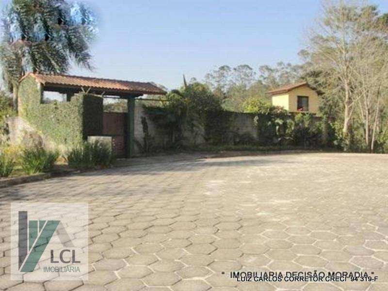 chácara com 4 dormitórios à venda, 1400 m² por r$ 829.000,00 - ressaca - itapecerica da serra/sp - ch0003