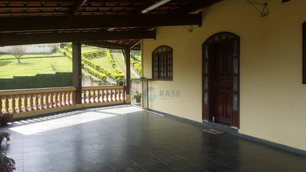 chácara com 4 dormitórios à venda, 17300 m² por r$ 550.000 - fazenda vitoria - são lourenço da serra/sp - ch0002