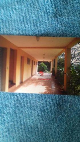 chácara com 4 dormitórios à venda, 2300 m² por r$ 290.000,00 - bairro da usina - bragança paulista/sp - ch0008