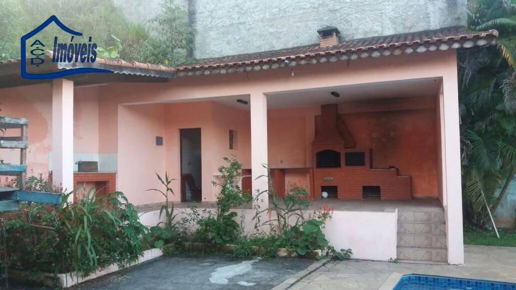 chácara com 4 dormitórios à venda, 2750 m² por r$ 750.000,00 - monte negro - santa isabel/sp - ch0015