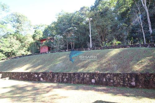 chácara com 4 dormitórios à venda, 3770 m² por r$ 790.000 - zona rural - ibiúna/sp - ch0006