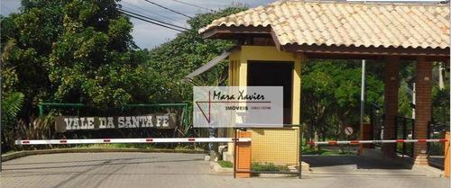 chácara com 4 dormitórios à venda, 5200 m² por r$ 1.800.000 - condomínio santa fé - vinhedo/sp - ch0151