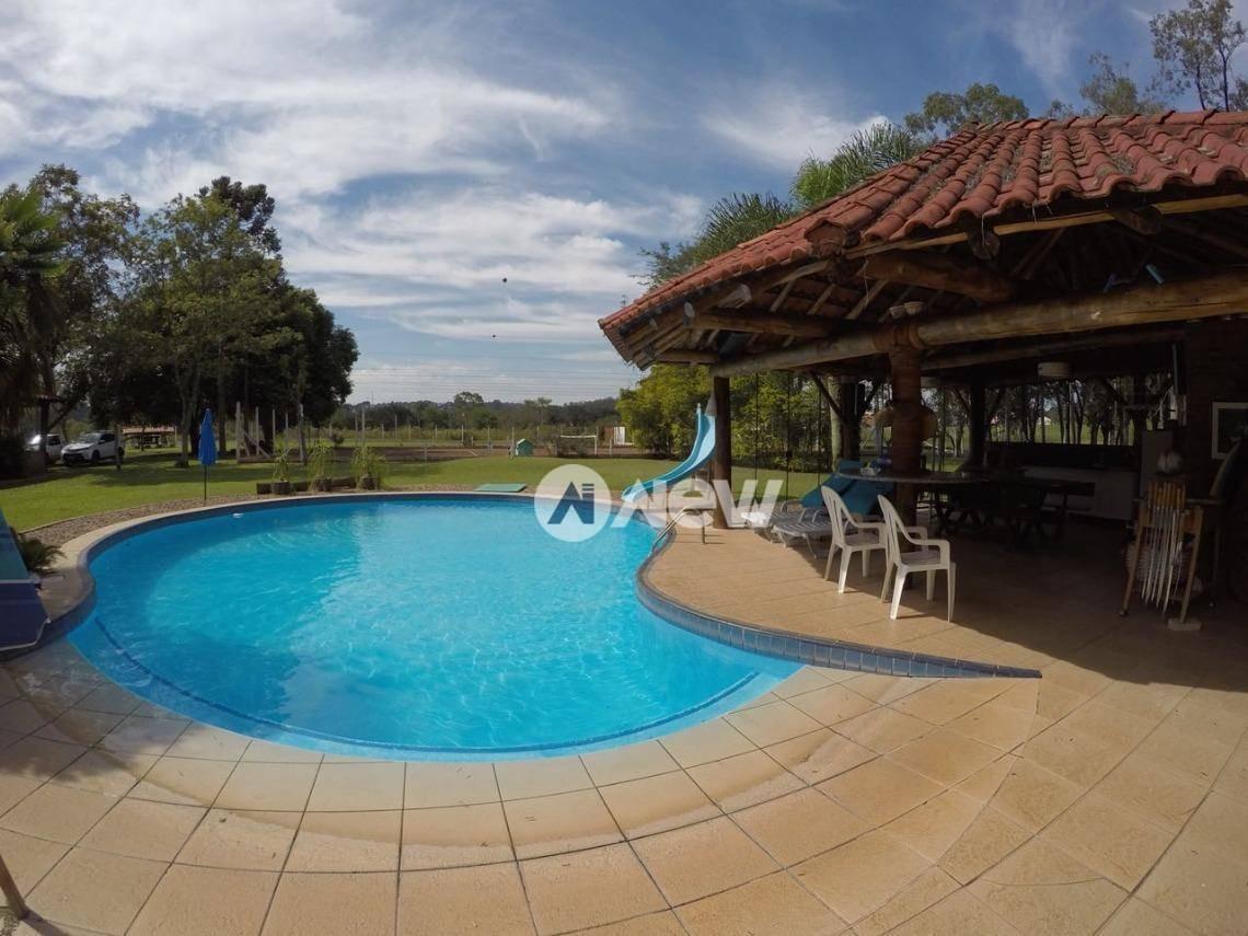 chácara com 4 dormitórios à venda, 52600 m² por r$ 1.596.000,00 - lomba  grande - novo hamburgo/rs - ch0087