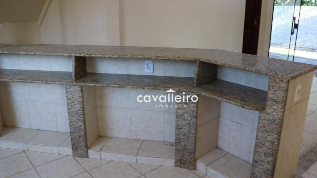 chácara com 4 dormitórios à venda, 5531 m² no caxito - maricá/rj - ch0064
