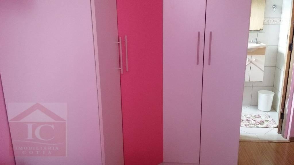 chácara com 4 dormitórios à venda, 560 m² por r$ 500.000,00 - chácara recanto verde - cotia/sp - ch0057