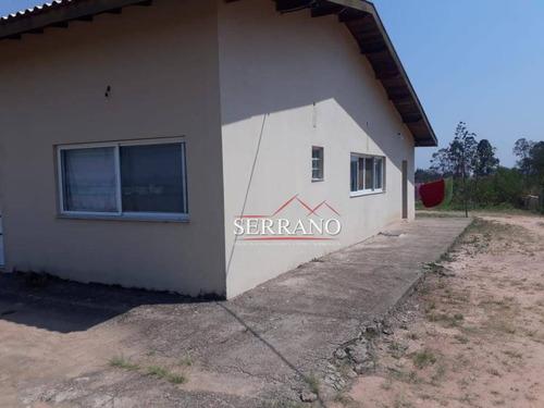 chácara com 4 dormitórios à venda, 7000 m² por r$ 1.700.000,00 - chácara são bento - vinhedo/sp - ch0033
