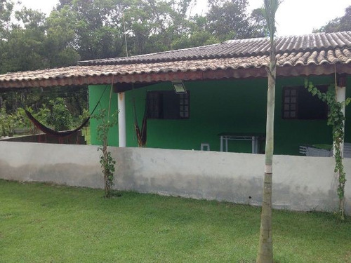 chácara com 4 quartos e piscina, itanhaém - ref 2614-p