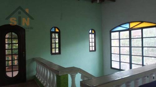 chácara com 5 dormitórios à venda, 1150 m² por r$ 375.000 - ouro fino - santa isabel/sp - ch0008