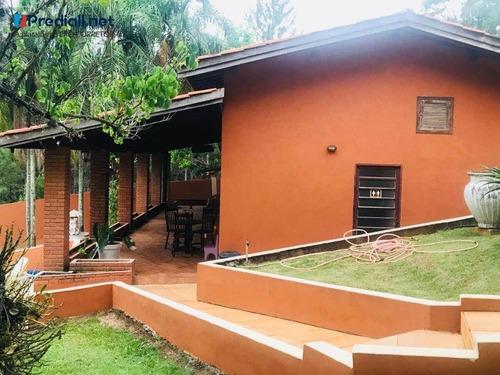 chácara com 5 dormitórios à venda, 12300 m² por r$ 2.500.000 - são joaquim - vinhedo/sp - ch0017