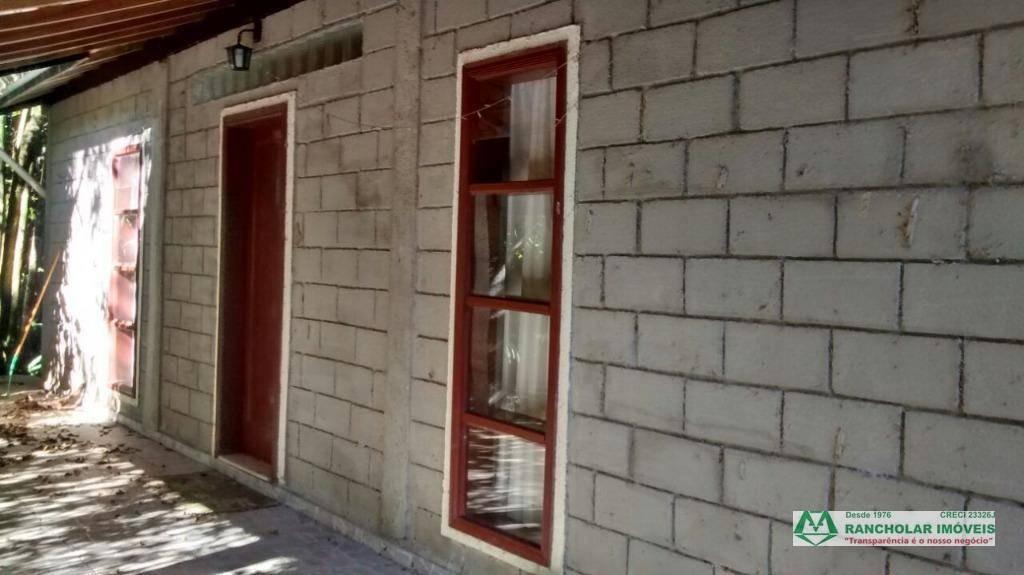 chácara com 5 dormitórios à venda, 27000 m² por r$ 900.000,00 - cachoeira - cotia/sp - ch0003