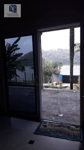 chácara com 5 dormitórios à venda, 422 m² por r$ 1.700.000 - parque novo oratório - santo andré/sp - ch0020