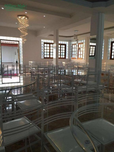 chácara com 5 dormitórios à venda por r$ 1.000.000 - sítios de recreio rober - guarulhos/sp - ch0092