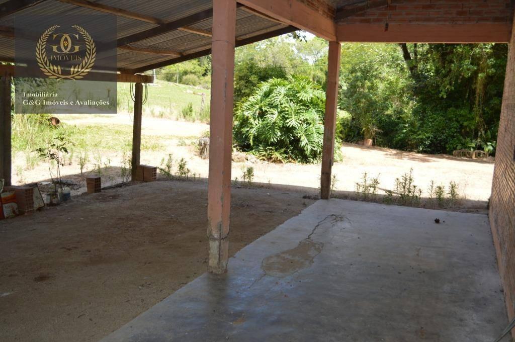 chácara com 6 dormitórios para alugar, 30000 m² por r$ 3.500/mês - jardim fiúza - viamão/rs - ch0028