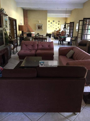 chácara com 6 dormitórios à venda, 17250 m² por r$ 2.100.000,00 - recreio - ibiúna/sp - ch0005
