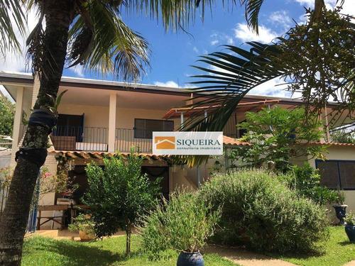 chácara com 6 dormitórios à venda, 2460 m² por r$ 900.000 - residencial alvorada - araçoiaba da serra/sp - ch0026