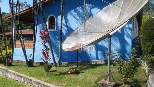 chácara com 6 dormitórios à venda, 5000 m² por r$ 700.000 - recanto dos juritis - sorocaba/sp - ch0005