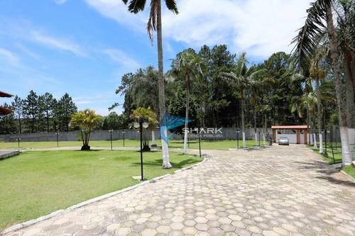 chácara com 8 dormitórios à venda, 14000 m² por r$ 1.499.000,00 - centro (canguera) - são roque/sp - ch0004