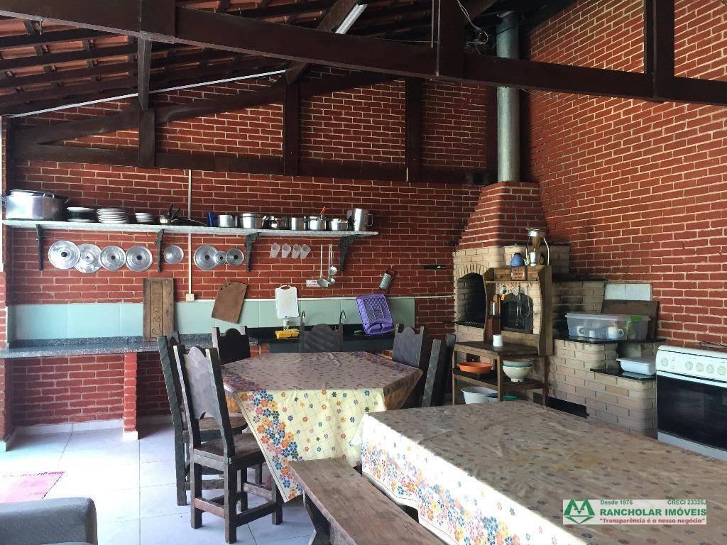 chácara com 8 dormitórios à venda, 3026 m² por r$ 450.000,00 - portal do quilombo - cotia/sp - ch0185