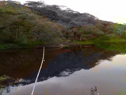 chácara com belo lago em juquitiba