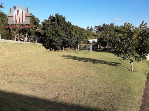 chácara com campo de futebol, 03 dormitórios à venda, 1000 m² por r$ 280.000 - zona rural - pinhalzinho/sp - ch0462