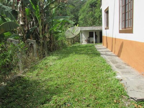chácara com chalé + casa de caseiro/ref: 04706