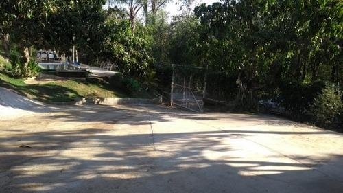 chácara com chalés piscina e lago artificial prox cidade - 811