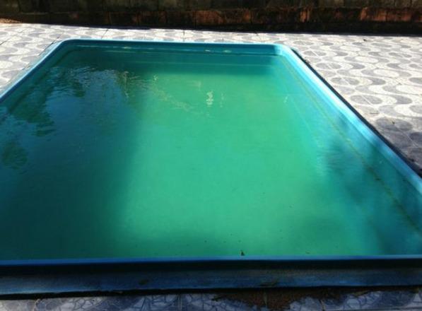chácara com churrasqueira piscina e próxima a repesa