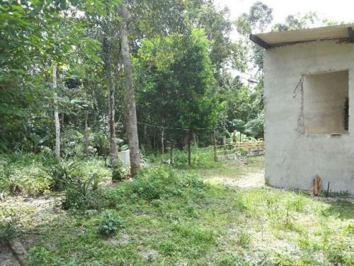 chácara com construção iniciada em itanhaém-sp! confira